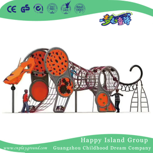 Outdoor Middle Elephant Climbing Playground (HHK-7904)