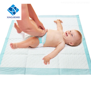 Extra Absorbent Soft cushion Breathable Baby Diaper Changing Mat, Disposable Change Pad