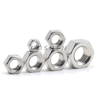 DIN555 Stainless Steel Hex Nut