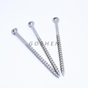 SS304 Cross Recessed Flat Head Wood Screw