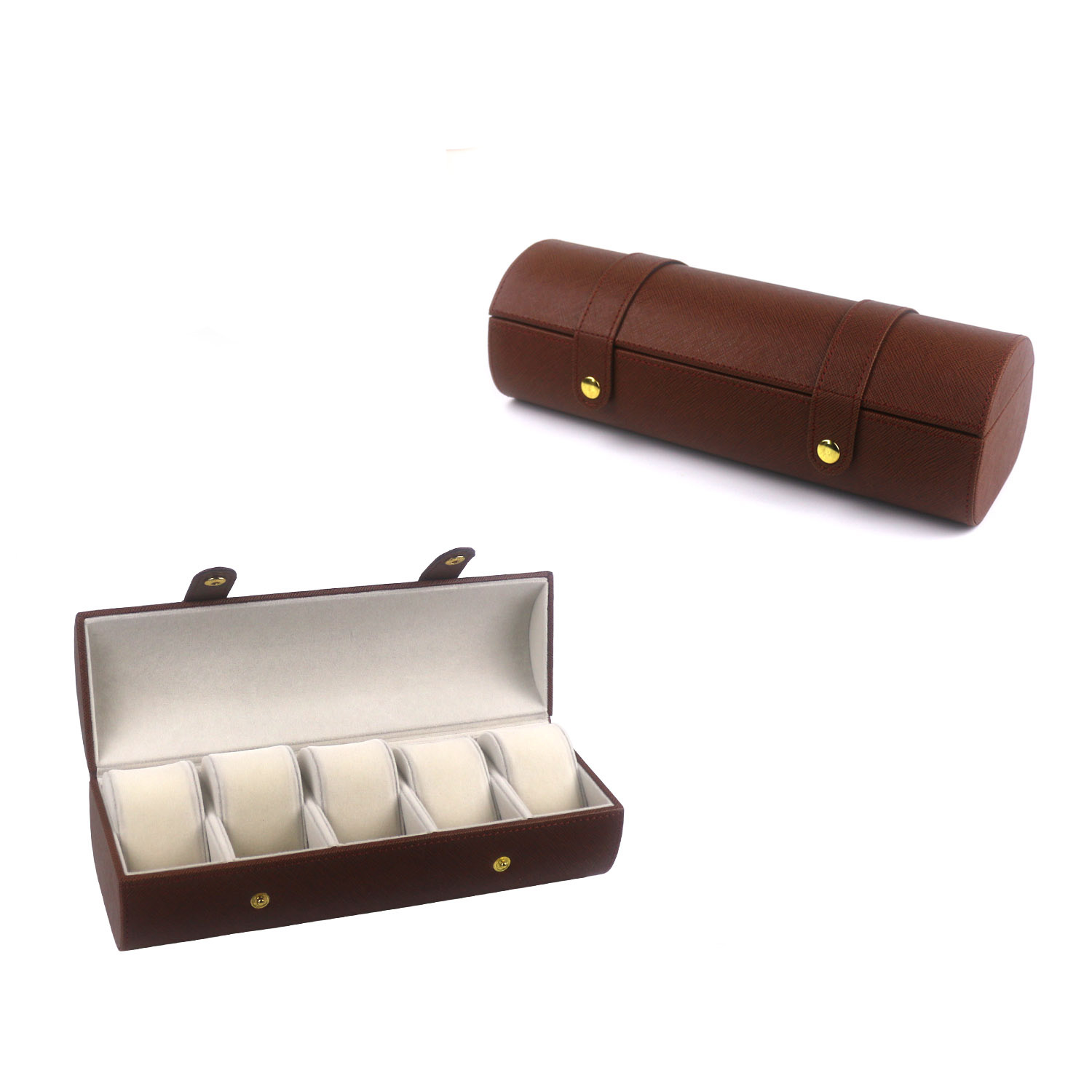 Pu leather watch travel case