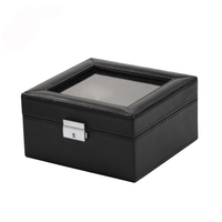 China Supplier Custom Six-pack PU Leather Men Display Watch Box