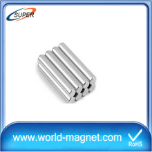 China Strong Rectangular Neodymium Cylinder Magnets