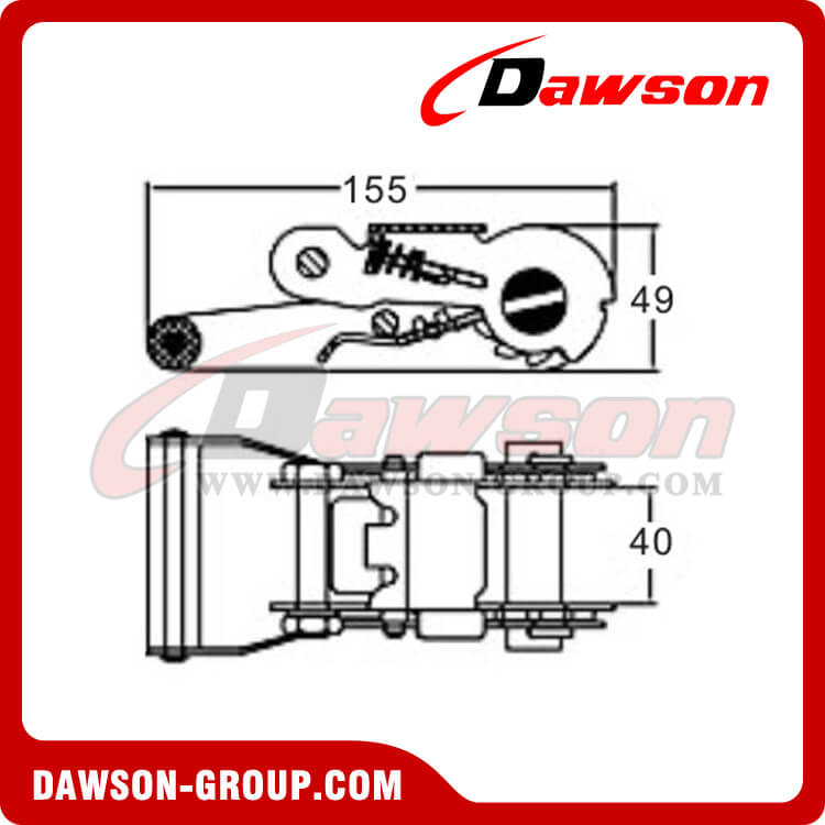 DSRB35305 Ratchet Buckle - China Manufacturer Supplier