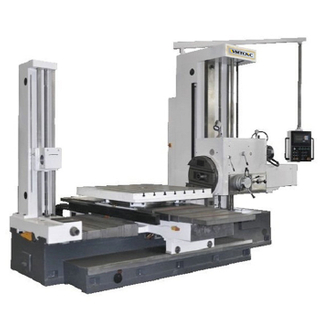 T6111B Good Quality floor Type Horizontal Milling And Boring Machine  with Rear Pillar