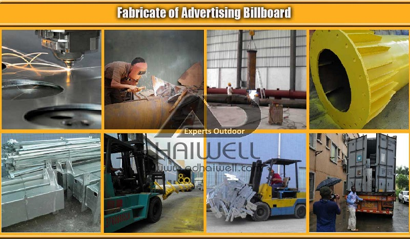 Fabricate Advertising Billboard