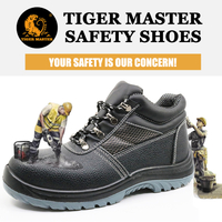 Best selling tiger master brand safety shoes