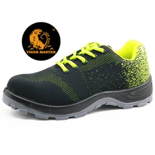 Oil resistant anti static breathable safety shoes sport