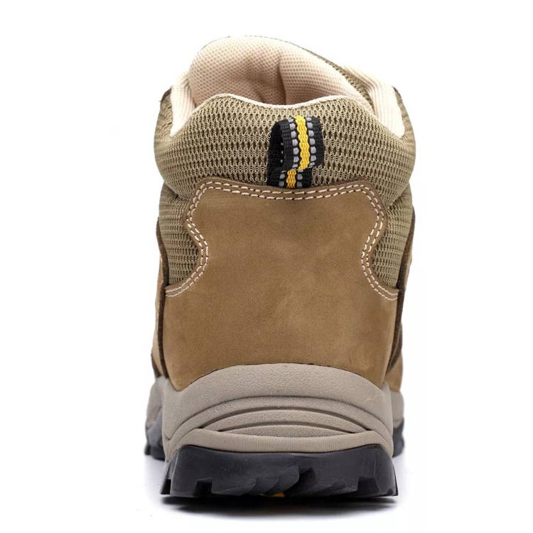 China oil resistant steel toe cap safety leather boots for work