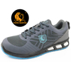 light weight oil resistant sport safety shoes composite toe cap