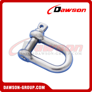 Stainless Steel 304 European Type Dee Shackle, SS 316 European Type Dee Shackle
