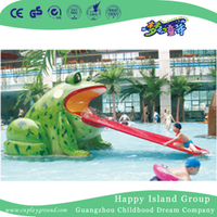 Outdoor Water Funny Frog Slide Water Play Game (HHK-11007)