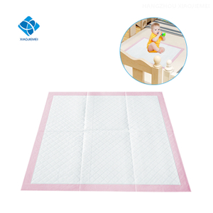 High Quality Super Absorbency Disposable Customizable Baby Changing Pads