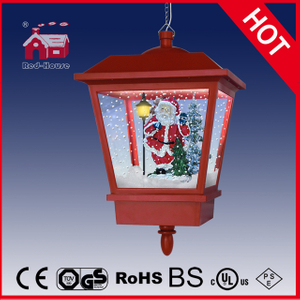 (LH27045D-R) Classic Musical Gifts Christmas Decoration Hanging Lamp