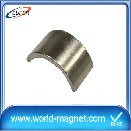 High Performance Arc Neodymium Magnets for Motors