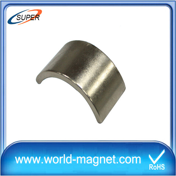 High Performance Arc shape Neodymium Magnets
