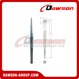 DSb09 N76×1600 Earth Auger N Ground Pile Series