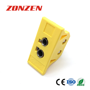 Panel mounted connector for thermocouple (Standard type, Big, ZZ-PS1)