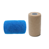 Blue 4 Inch cohesive bandage latex free