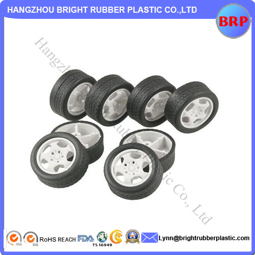 Customed Plastic Wheel with New Design for Toy Car