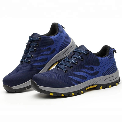 SP009 Rubber Sole Breathable Fashion Sport Safety Shoe for Unisex