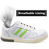 Oil slip resistant fashion casual sport safety shoes with fiberglass toe