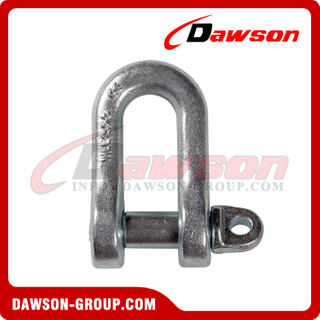 Galvanized shackle DIN 82101 Form A, Form B, Form C
