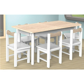 New Design School Children Wooden Rectangle Table (19A2102)