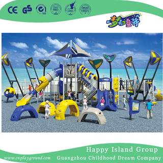 Outdoor Large Sea Breeze Playground With Children Climbing Set (HHK-5001)