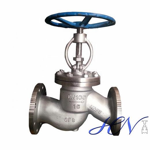 Gas Line Industrial Flanged Quick Opening Globe Valve