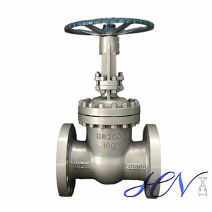 Boiler Flanged Manual Carbon Steel Flexible Wedge Gate Valve