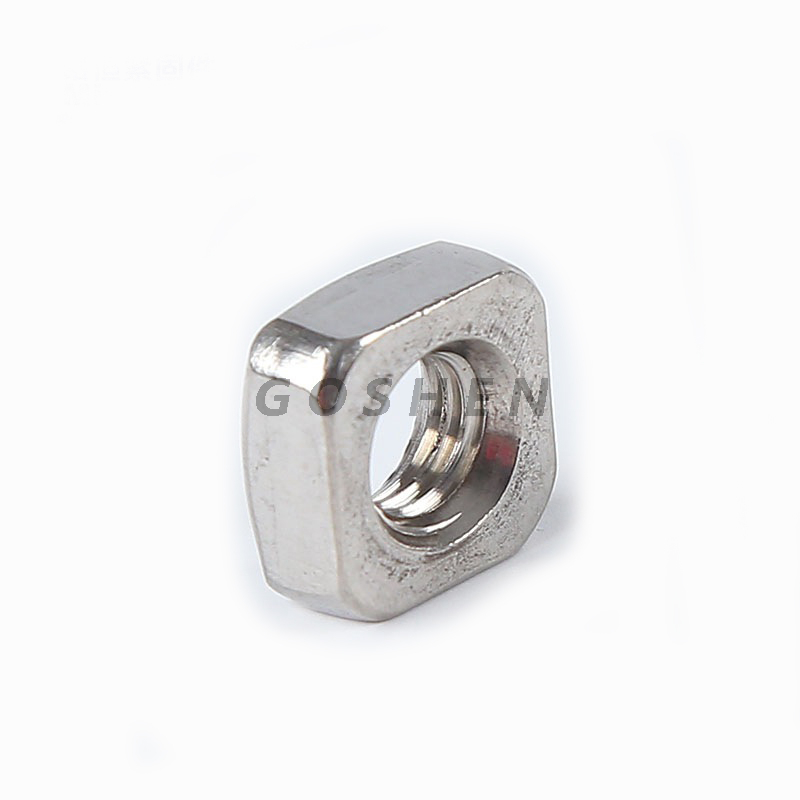 Din557 stainless steel A2 A4 Standard Plain Square Nut