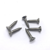 Stainless Steel Bi Metal 201 304 316 St3.5-St6.3 Flat Phillips Self Tapping Screw