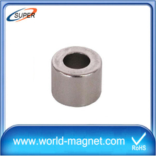 Hottest Sale Neodymium Cylinder Magnet with hole
