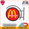 Outdoor SMD P4 Circle Logo Round LED Digital Video Display Screen Signage
