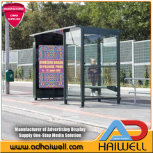LED digital Bus Stop Smart City Displays
