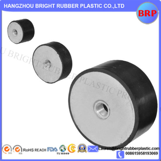 304 Stainless Steel Nature Rubber Shock Bumper