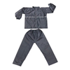 High Visibility Reflective Stripe Waterproof Rainsuit Nylon PU Coating Raincoat
