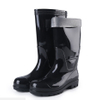 110B black waterproof oil resistant glitter pvc safety boots