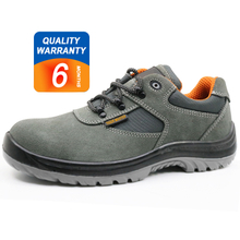 ENS024 low ankle anti static suede leather safety shoes europe
