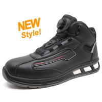 ETPU05 high ankle fiberglass toe sport type safety boots shoes
