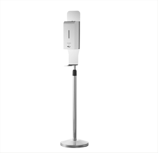 Auto Hand Sanitizing Station Indoor Floor Standing Hand Sanitizing Dispenser with 1500ML