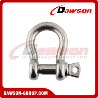 Stainless Steel US Type Bow Shackle, SS 304 US Type Bow Shackle