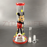 High Borosilicate Handblown Glass Water Pipe