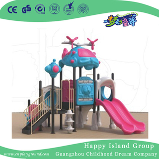 School Small Cute Helicopter Toddler Slide Playground (1914402)