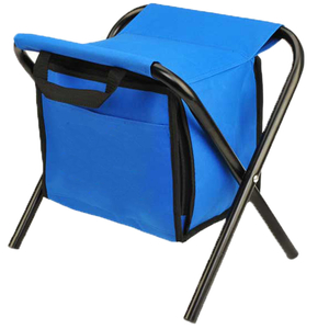 Outdoor Camping Folding Cooler Chair Insulated Stool Carrying Bag Chair Leisure Fishing Chair Bag