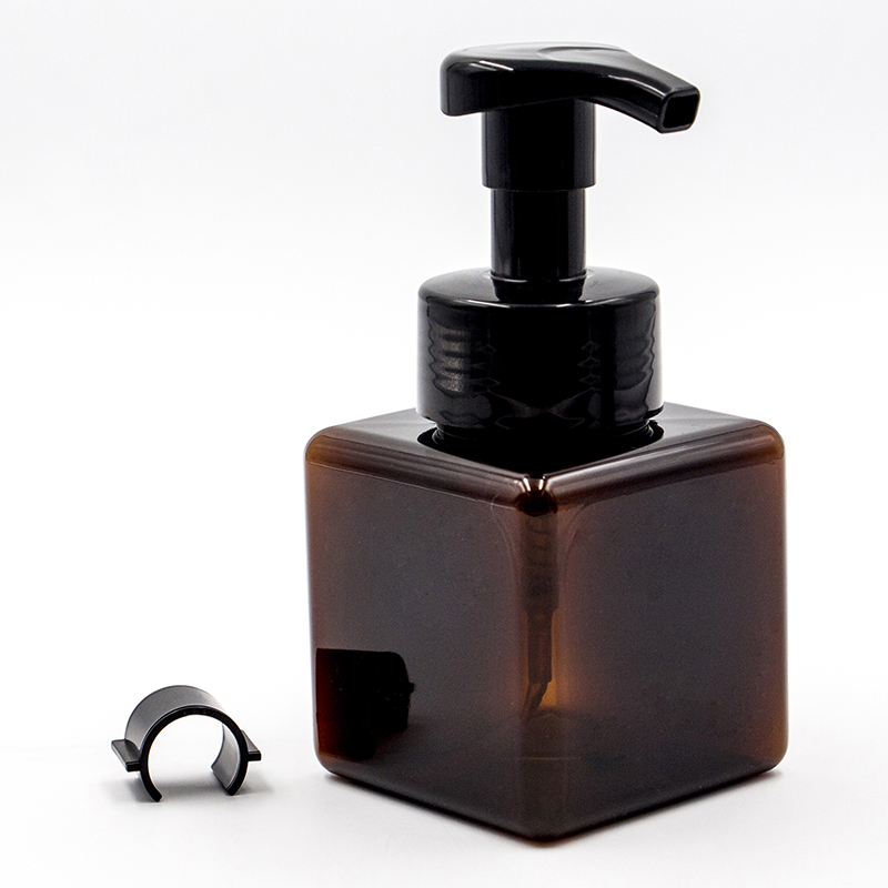 250ml Square PET Bottle with Foam Pump for Hand Sanitizer