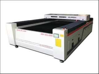 Dekcel® 150w,280w stainless steel metal and nonmetal sheet cnc laser cutting machine