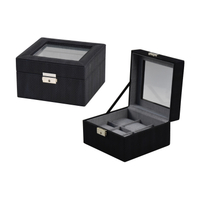 PU leather white 10 watches watches suitcase