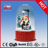 (P23036C) Santa Claus Christmas Decoration with Transparent Case